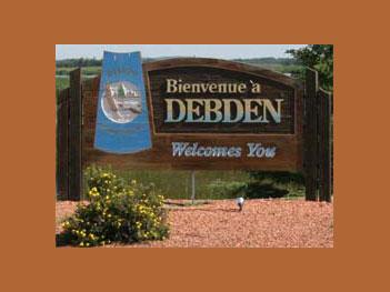 Village of Debden, Saskatchewan, Canada