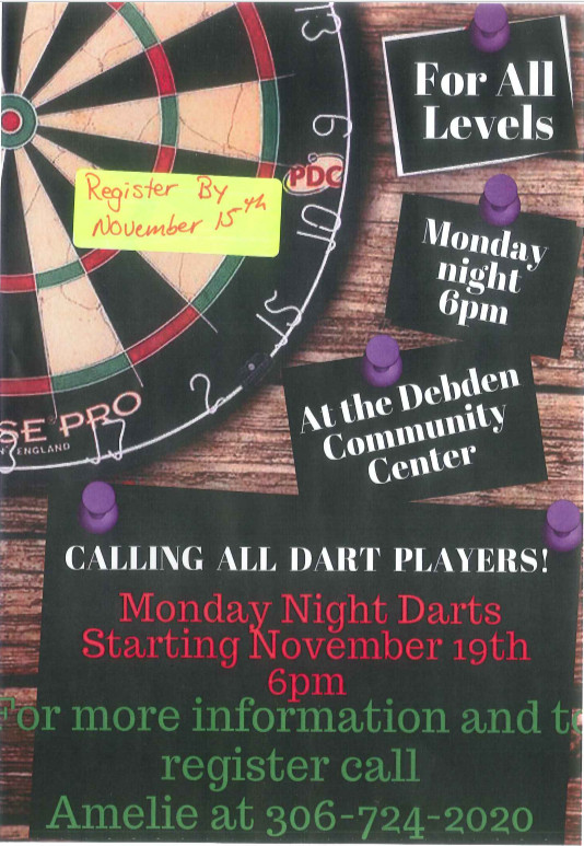 Monday Night Darts